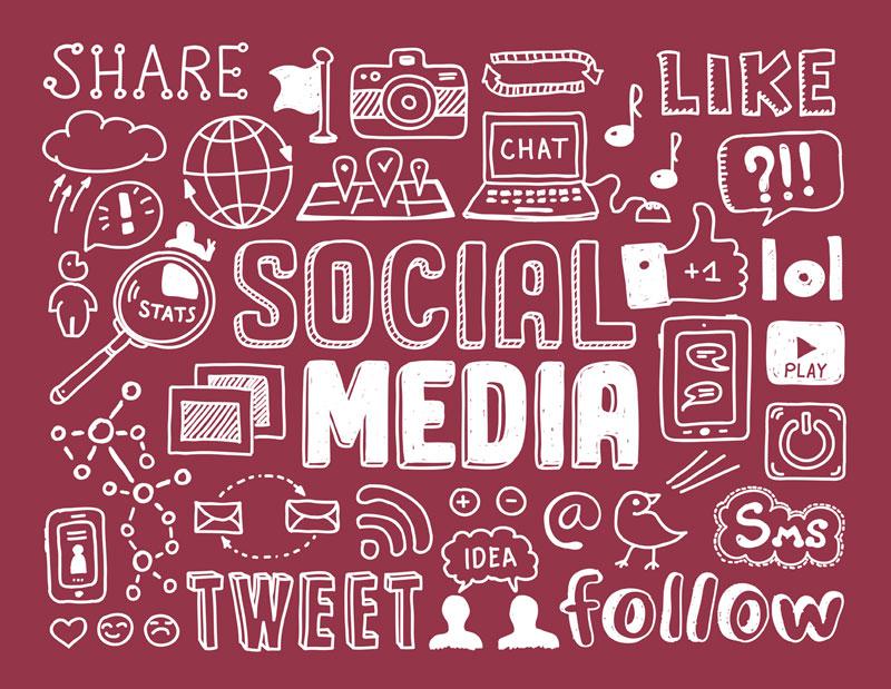 Tendências demográficas para todas as redes sociais