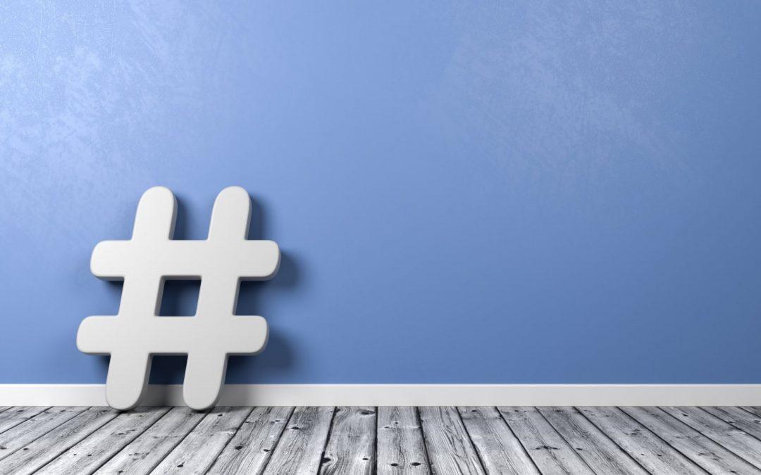 Usando hashtags nas redes sociais
